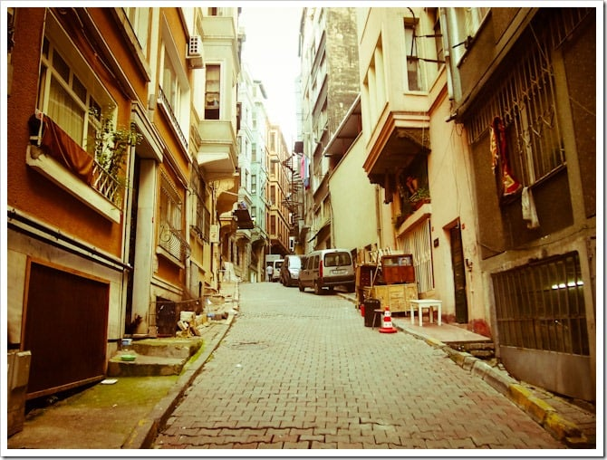 A different side of Istanbul