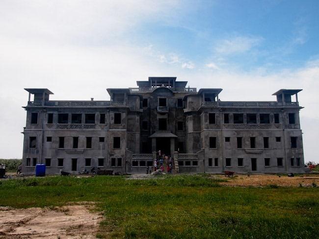 Bokor hotel and casino