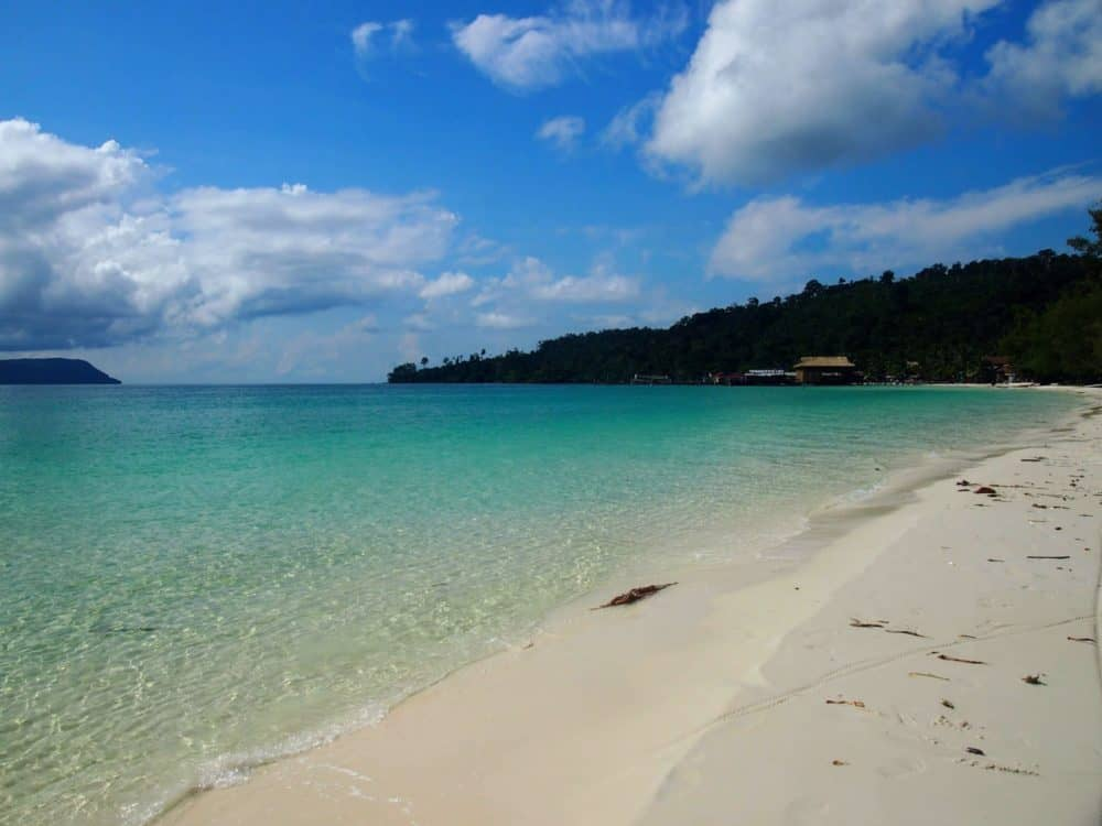 Empty beach, Koh Rong