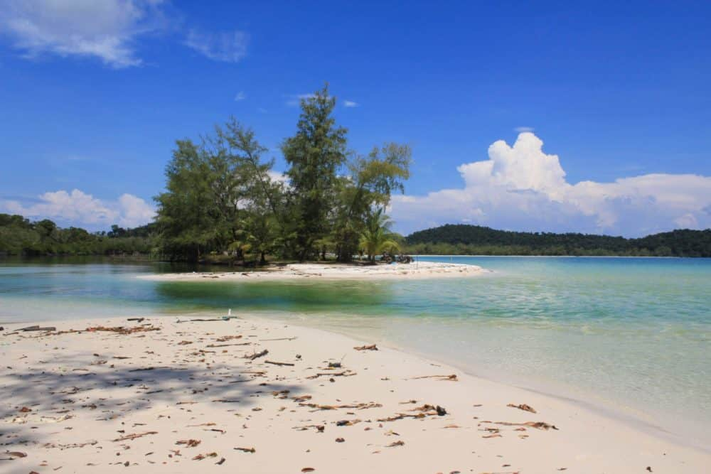 Isolated beach, Koh Rong