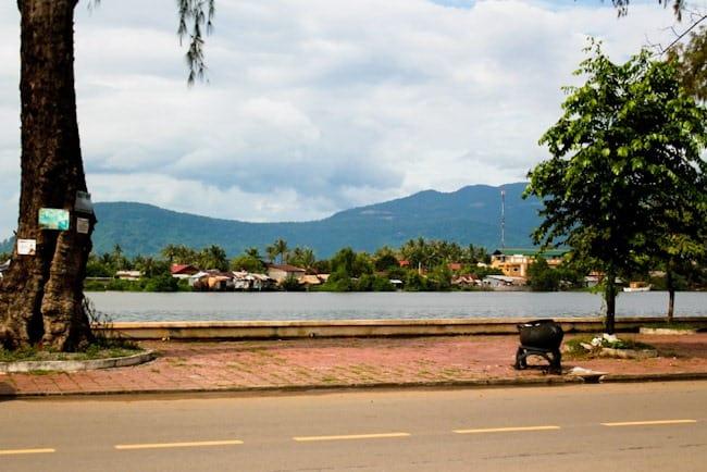 Kampot waterfront