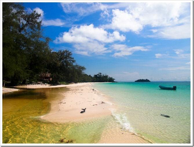 Koh Rong beach scene