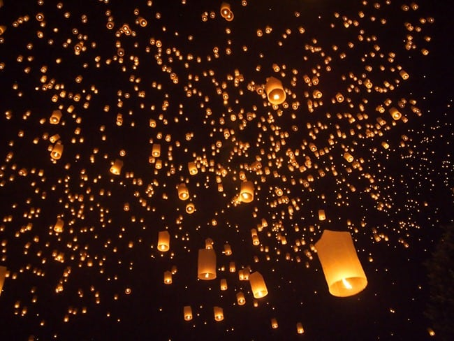 Oh look, more lanterns