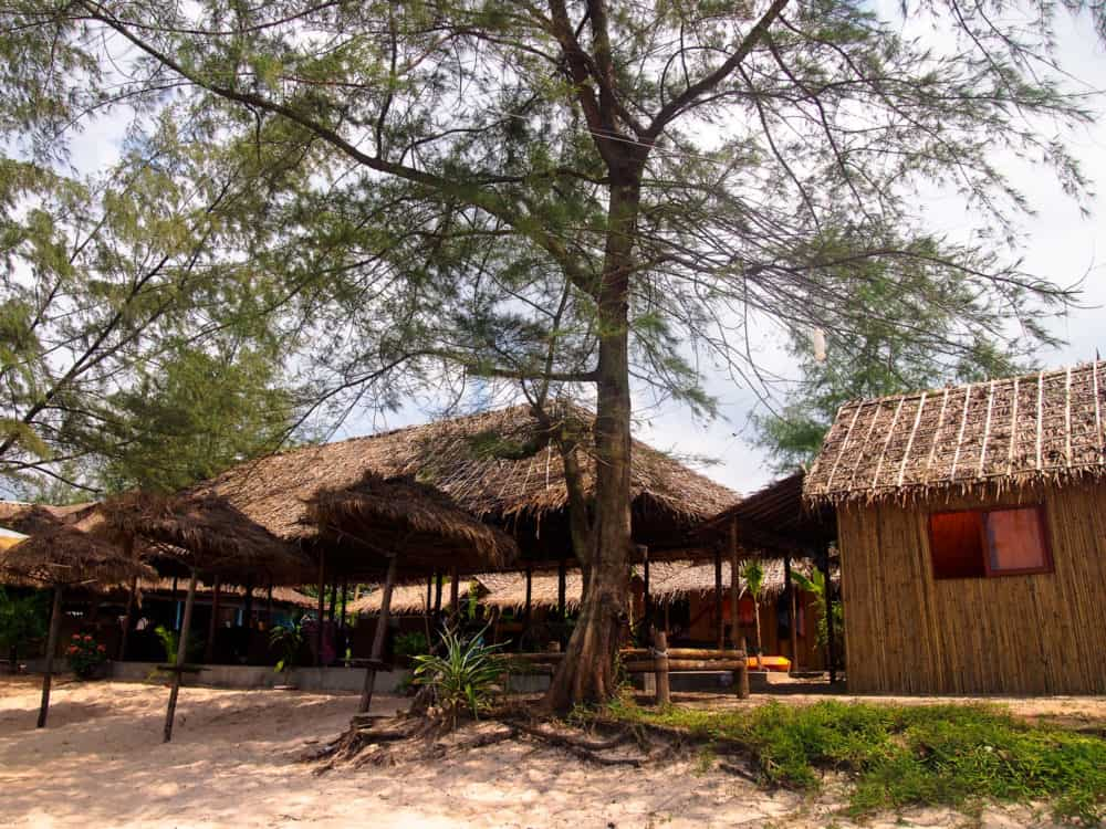 Otres beach bungalows