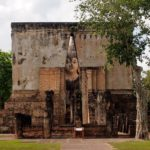 Peeking Buddha, Sukhothai