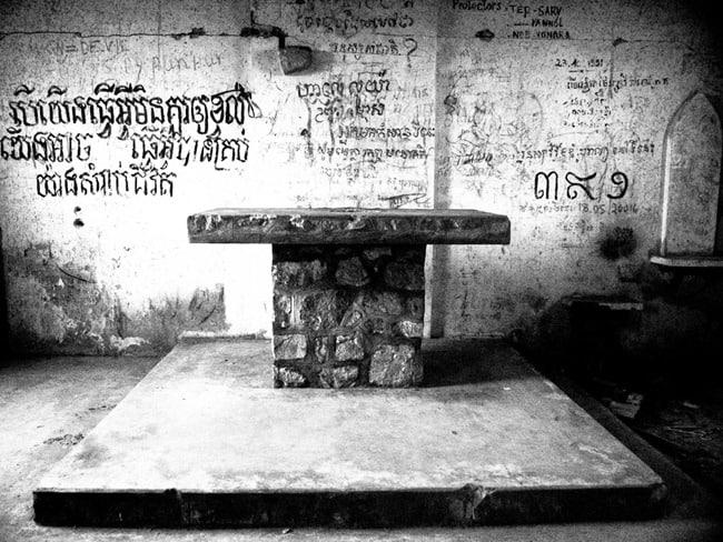 Ruined church, Bokor