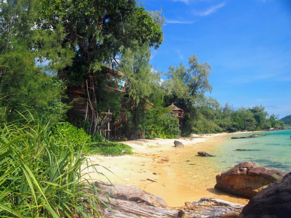 Treehouse bungalows, Koh Rong