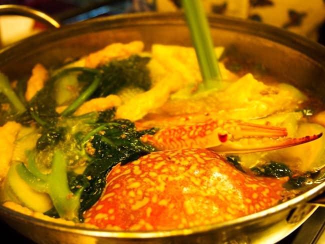 Crab hotpot, Saigon