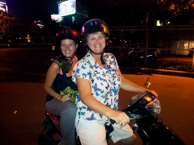 Lauren and Barbara, Saigon