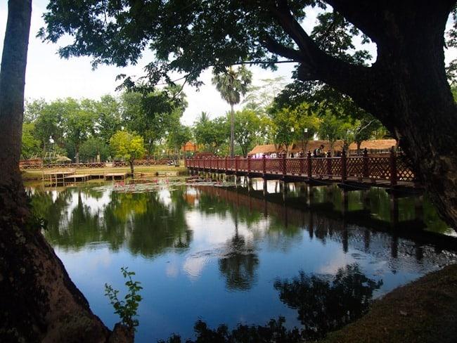 Sukhothai pond