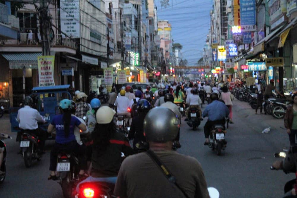 Soc Trang traffic