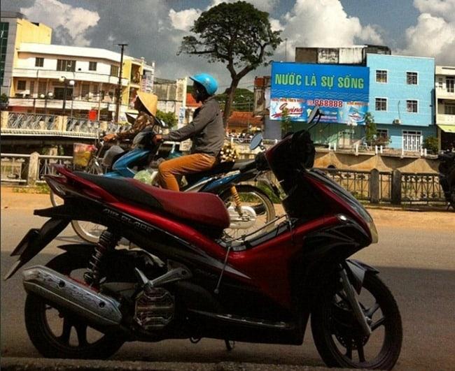 Vietnam scooter