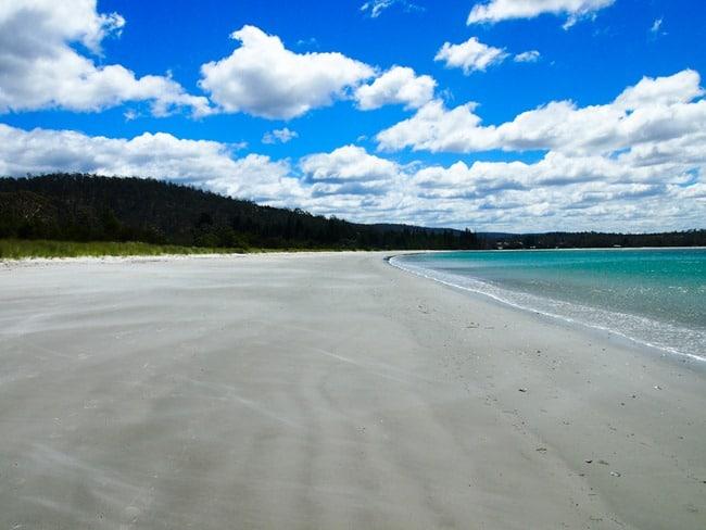 Beach enroute to Bicheno