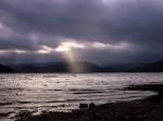 Ray of light,Lake Waikaremoana