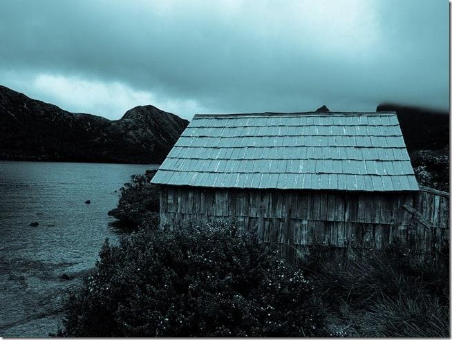 Old hut, Dove Lake