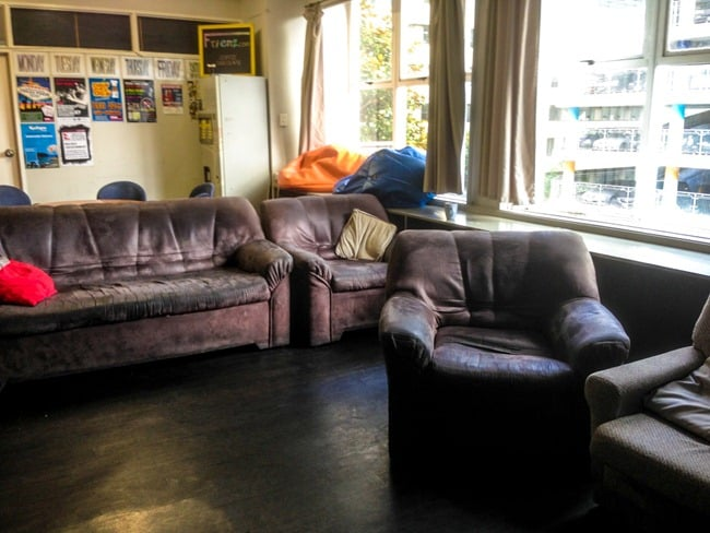Frienz backpackers common room