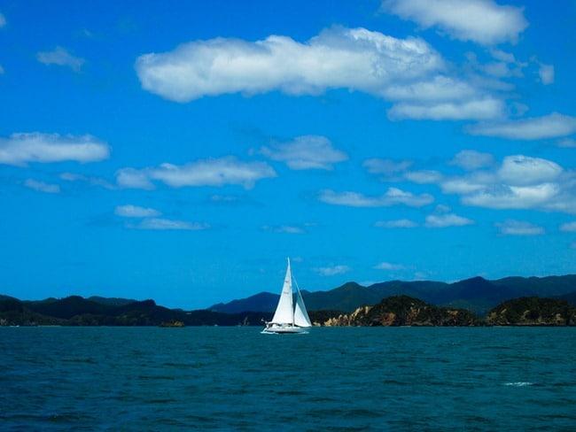 Sailing ship, Bay of Islands