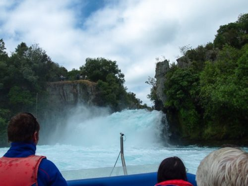 Huka Falls jetboat