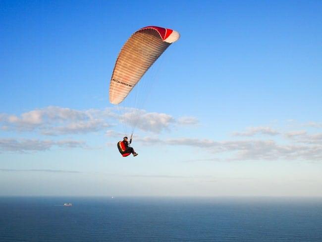 Paragliding, Mount Maunganui