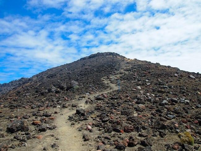 Tongariro summit track