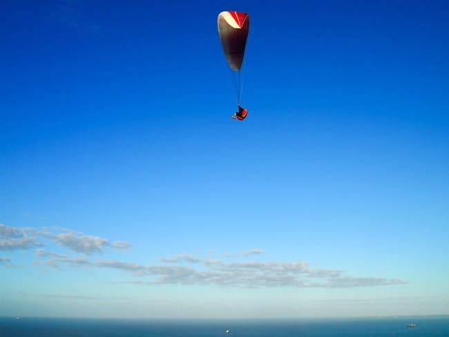 Up up and away, Mount Maunganui
