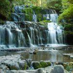 Catlins waterfall