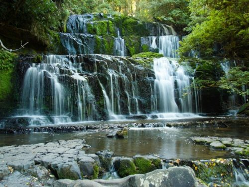 Catlins waterfall