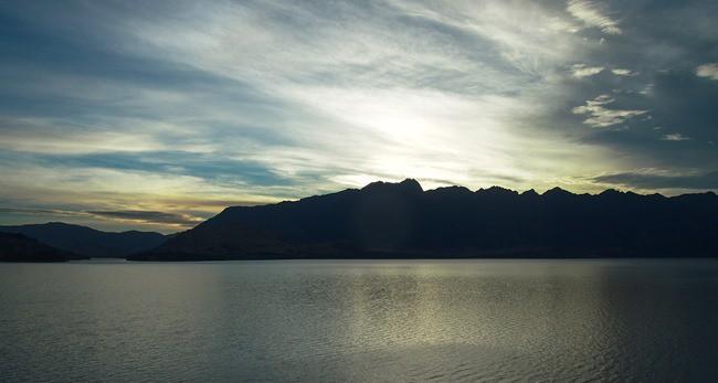 Sunrise over Lake Wakatipu