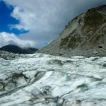 That time I walked on a glacier