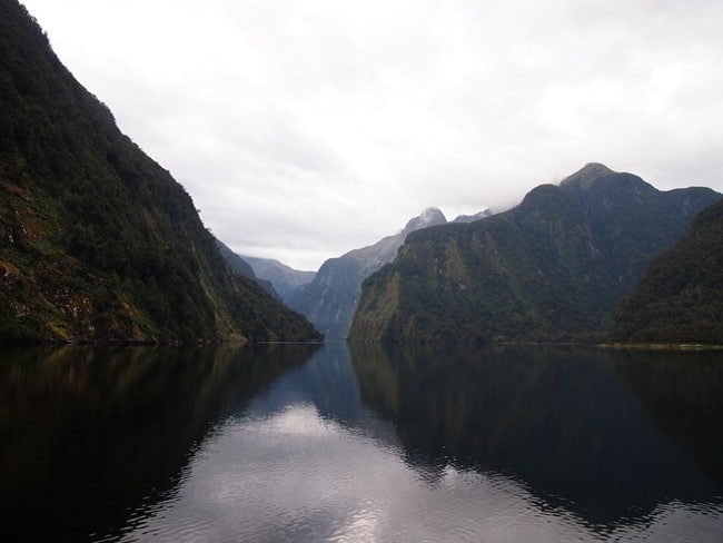Morning in Doubtful Sound