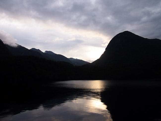 Morning on Doubtful Sound