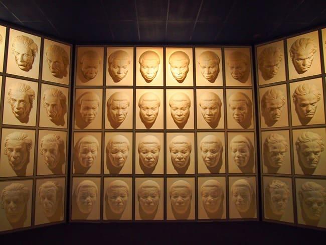 Hall of following faces, Wanaka