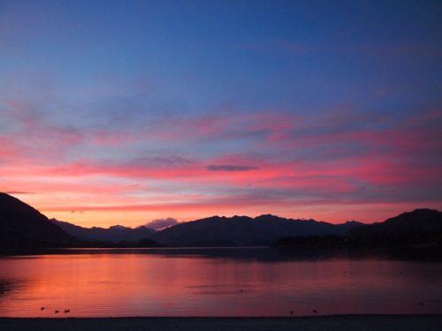 Wanaka sunset