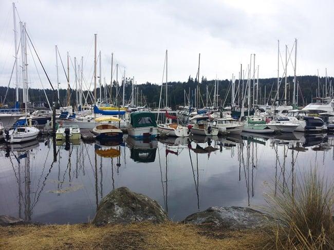 Bainbridge Island marina