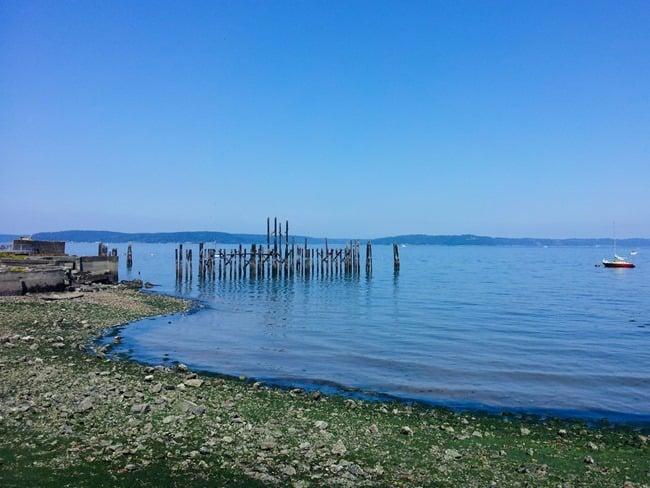 Tacoma shoreline