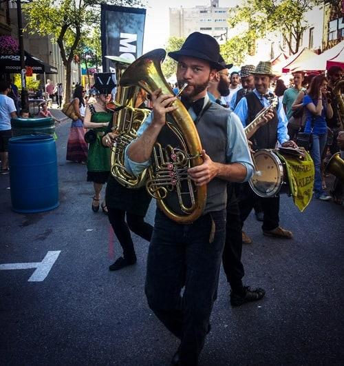 Montreal street band