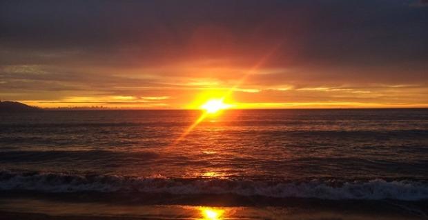 Sunset in Puerto Vallarta, Independence Day