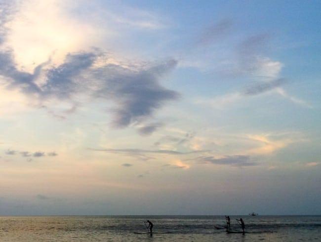 Sayulita beach sunset and paddleboards.jpg