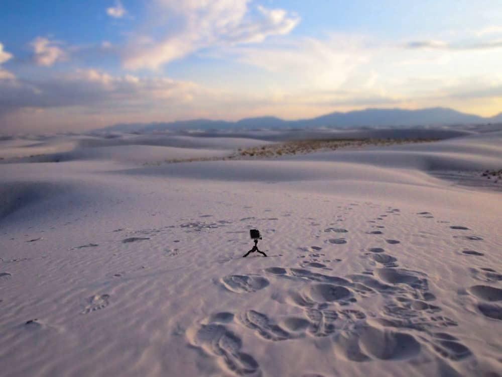 White Sands - GoPro