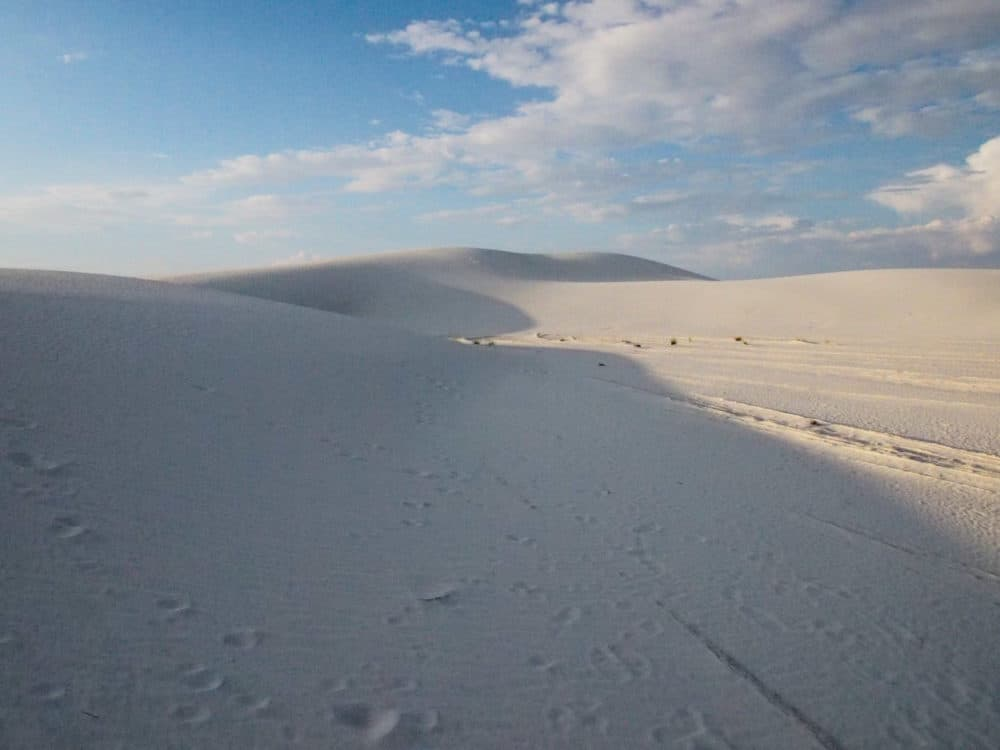 White Sands - shadows