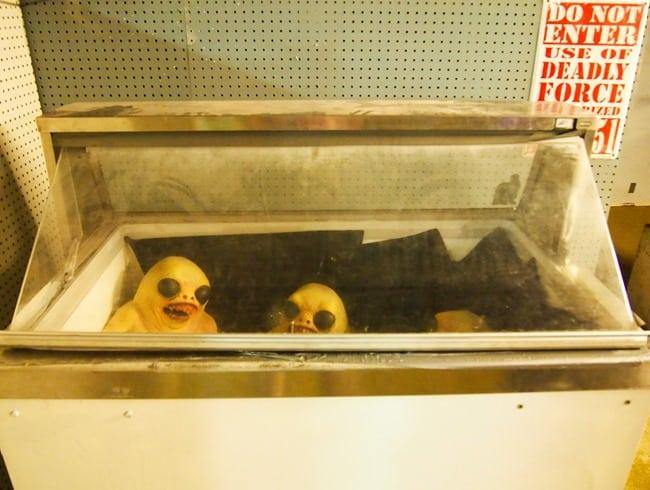Freezer aliens