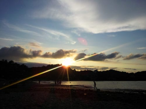 Sayulita beach sunset