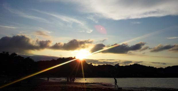 Sayulita beach sunset