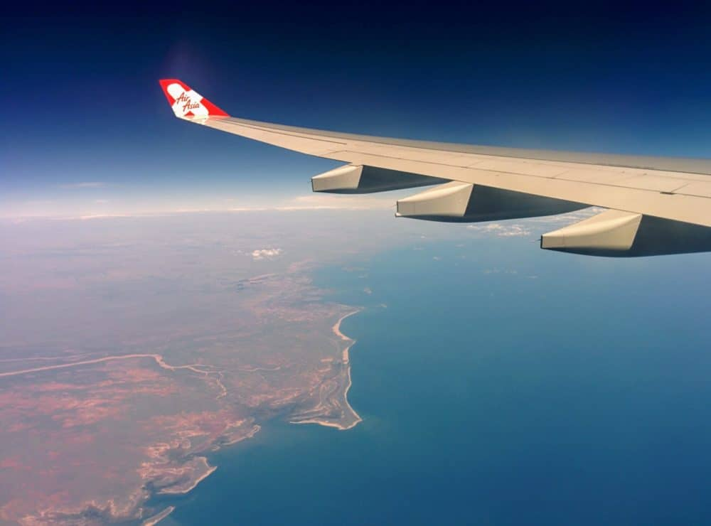 AirAsia wing