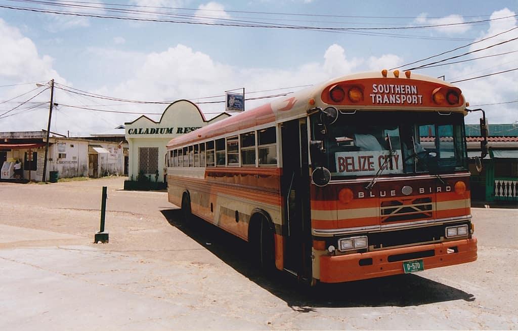 Belize City bus