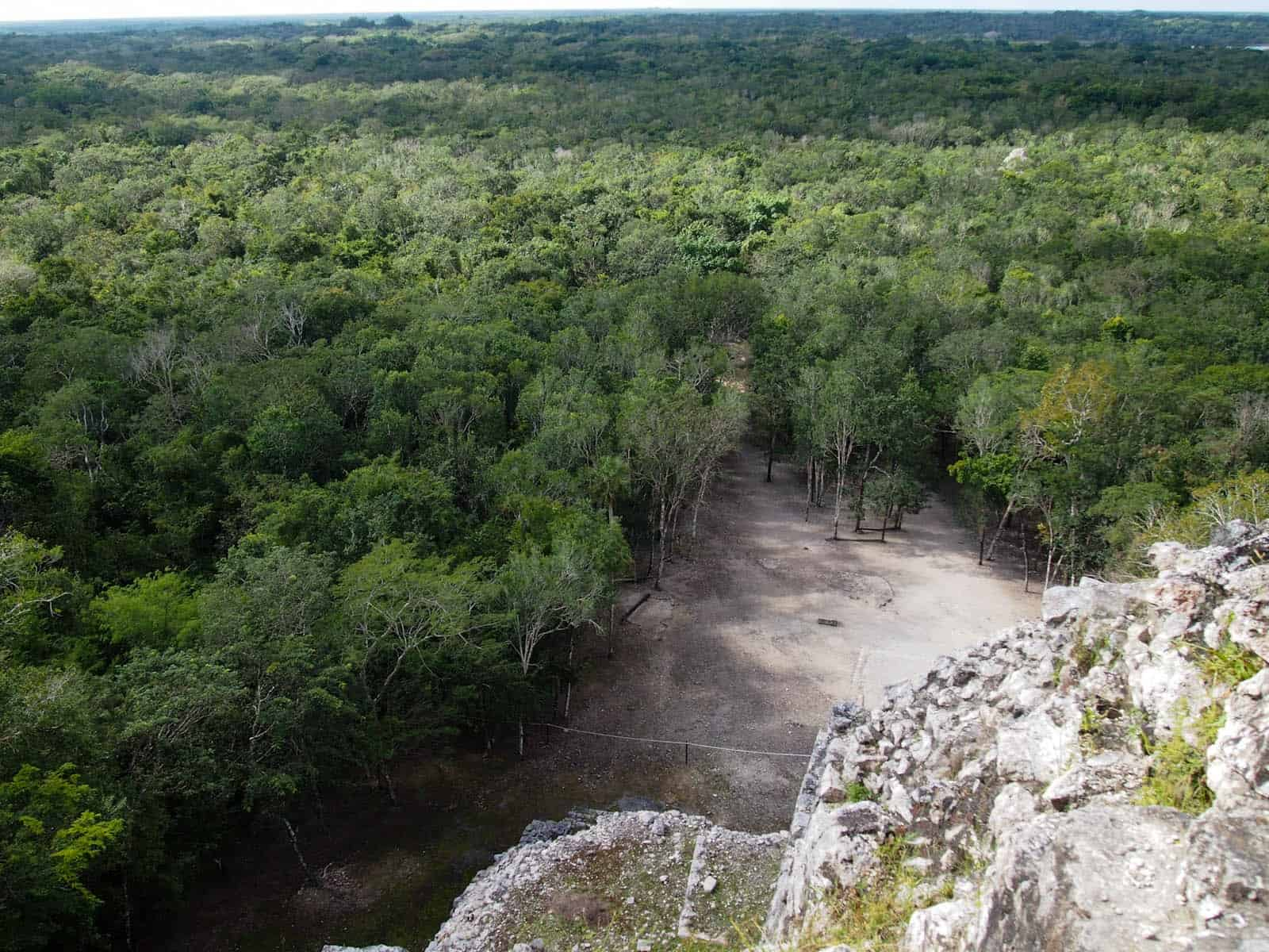 Coba - view from the top