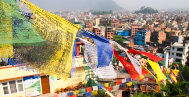 Prayer flags, Kathmandu