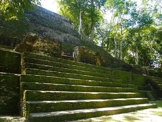 Cahal Pech steps