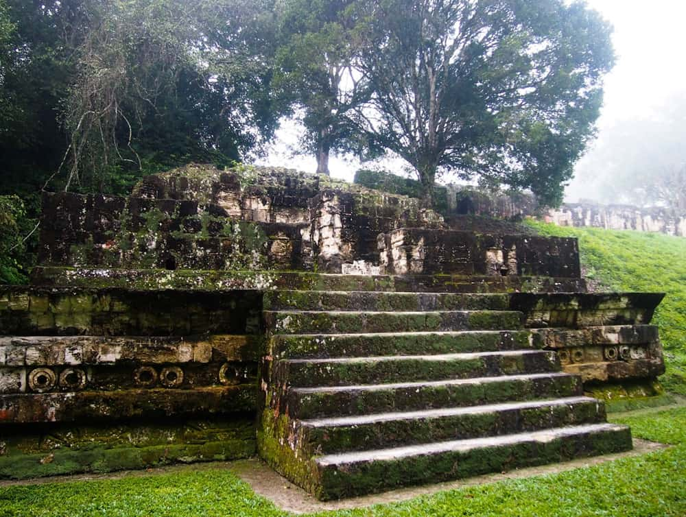 Foggy Tikal