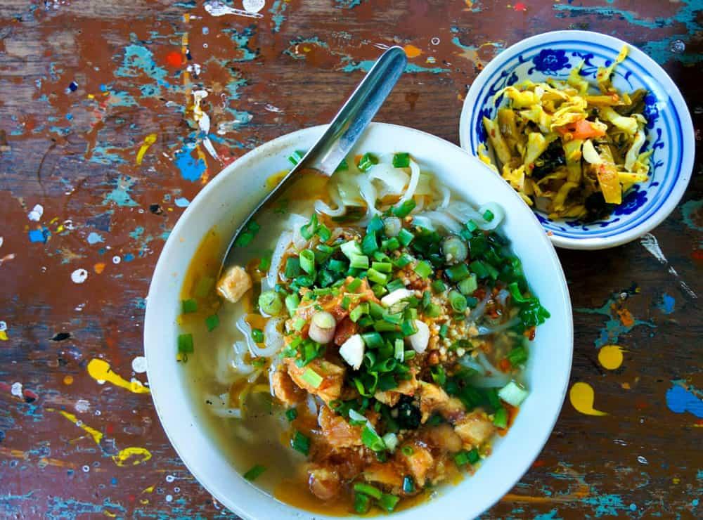 Shan noodle soup, Inle Lake